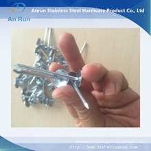 Lead Ion Ring Shank Roofing Nails with Umbrella Head