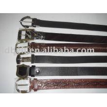 Vintage Leder Mode Gürtel Leder Gürtel