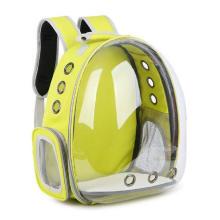 New Designer Outdoor Transparent Travel Fiber Backpack Pet Capsule Bag Carrier