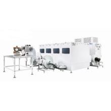 Machine de remplissage d'oreiller de polyester