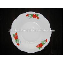 Mejor bienvenida hotel y restaurante plato profundo, placa de porcelana profunda al por mayor