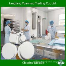 Umweltfreundliche Desinfektionsmittel Chemikalien für Krankenhaus / Chlordioxid / Sicherheit für die menschliche Körperdesinfektion