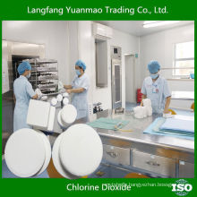 Eco-friendly Disinfectant Chemicals for Hospital/Chlorine Dioxide/Safety for Human Body Disinfection