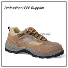 Zapatos de seguridad de alta calidad del tiempo de trabajo ligero de la inyección de la PU