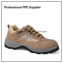 Alta qualidade PU Injection Lightweight Work Time Safety Shoes