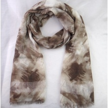 Ladies Feather Printing Scarves
