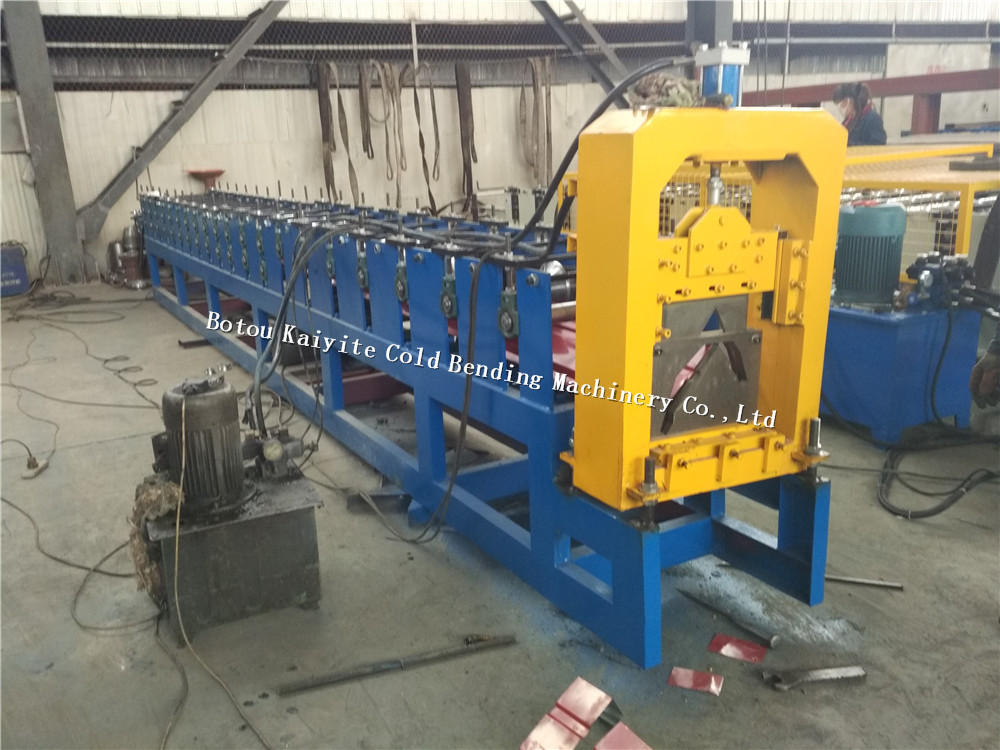 High Cost-performance steel structure gutter machine