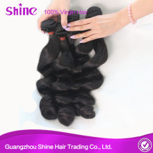 Wholesale Virgin Peruvian Loose Wave Hair Bundles
