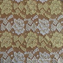 Single Dyed Brocade Lace Fabric