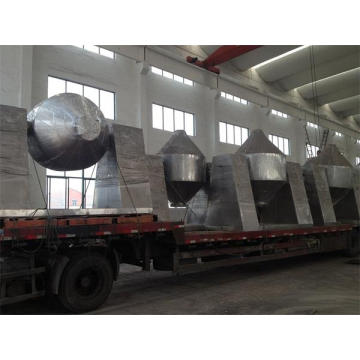 GMP Standard Rotary Conical Vacuum Dryer Machine