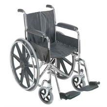 Standard Rollstuhl mit Kunststoff Mag Rad
