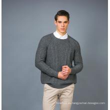 Suéter de la mezcla de la cachemira de la manera de los hombres 17brpv075