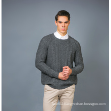 Men′ S Fashion Cashmere Blend Sweater 17brpv075
