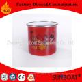 Sunboat Enamel Cup /Mugdrinkware / Kitchenware