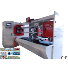 4 Shafts PVC Electrical Tape Slitting Machine (PVC tape making machine)