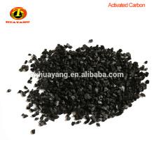 Cáscara de nuez granulada carbón activado para purificación de agua potable