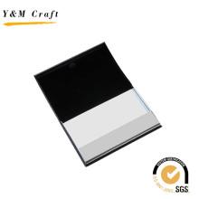 Titular de la tarjeta de presentación del cuero del metal del grado superior de la moda