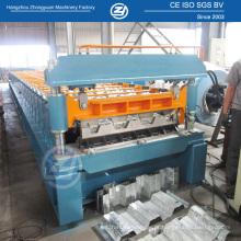 Rolo do Decking do assoalho de 915mm que forma a máquina