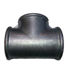 """2 """"iguais Galvanizado Tee acessórios de tubulação de ferro maleável"""