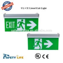 16660/ Orbit Electric LED Exit Sign Battery Dual Backup Emergency Light Unit