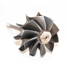 Cast Steel Machined Turbine Shaft