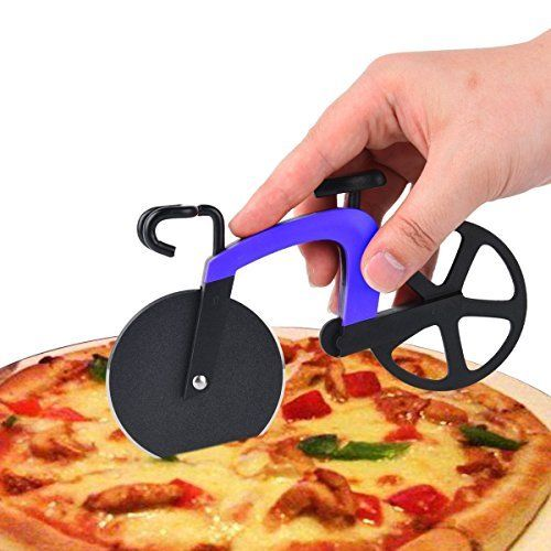 bicycle shaped pizza cutter