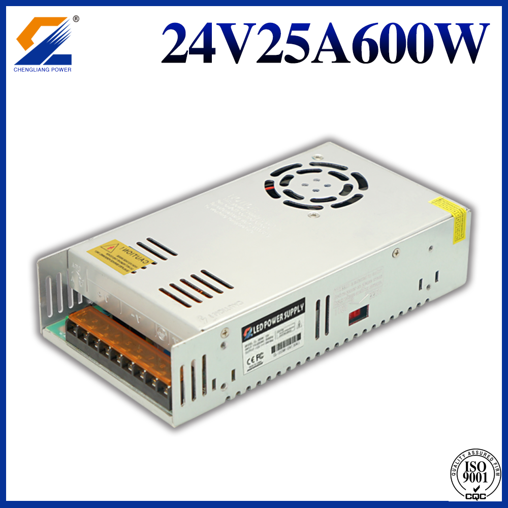 24V 25A 600W normal power supply
