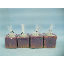 Kürbis Kerzenständer Form Keramik Handwerk (LOE2366-A5z)