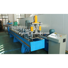 YTSING-YD-00046 Passed CE& ISO Galvanized Steel Grape Trellis Posts Roll Forming Machine/ Grape Frame Roll Forming Machine