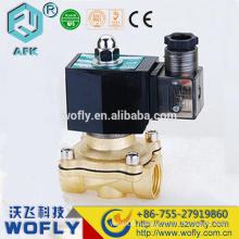 NO/NC brass 220VAC liquid gas solenoid valve