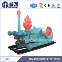 Equipo de campo petrolífero Bomba de Lodo Plataforma de perforación F-800 Triplex Mud Pump