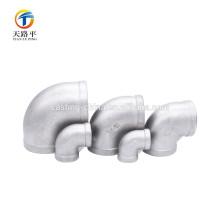 accesorios personalizados de tubería / codos de hierro maleable