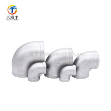 custom cast malleable iron pipe/elbows fittings