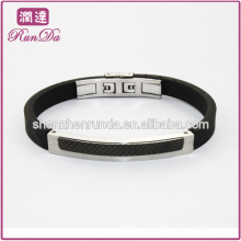 Pulseira de silicone pulseira clássica pulseira de silicone atacado