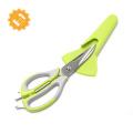 Кухонные ножницы с лезвием из нержавеющей стали высшего качества 7 в 1 с магнитной оболочкой