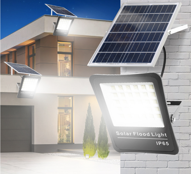 Solar floodlight with super long standby
