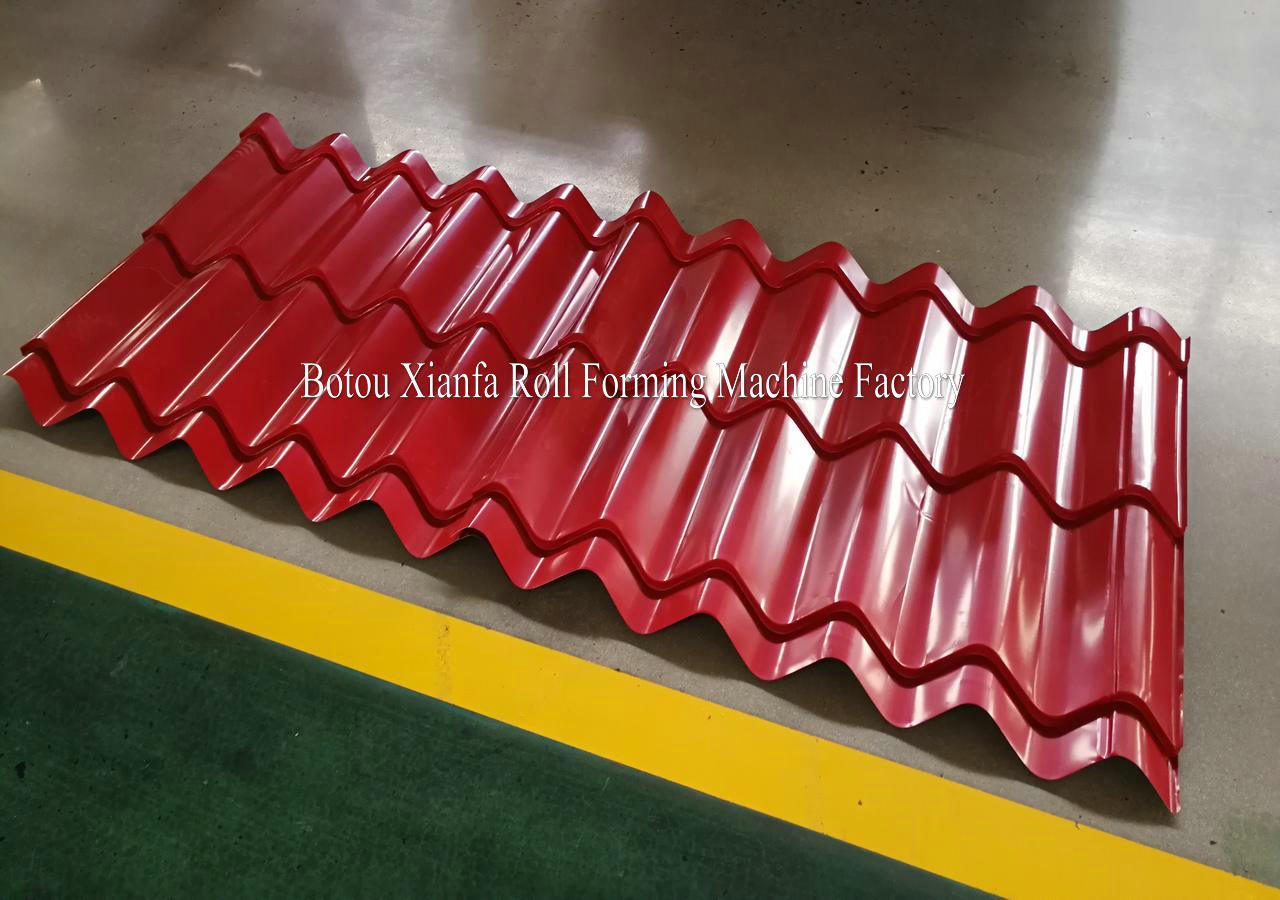 European Type Glazed Tile Machine