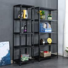 5 Tier Iron Commercial Garage Adjustable Storage Shelves