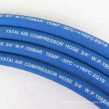 Black Blue Heat Resistant Air Compressor Oil Hose 1/2 Inch