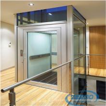 Стекло Крытый Электрический Лифт Виллы Небольшой Дом Лифт