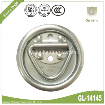 Round Pan Fitting Lashing Ring Dengan Dasar Karet
