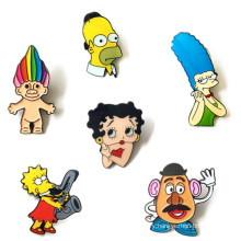 Set Cute Cartoon Characters Brooch