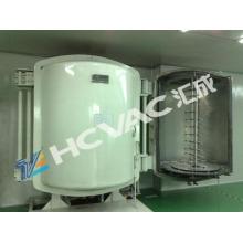 Máquina de revestimento plástica metalizada / equipamento plástico do chapeamento do vácuo de PVD