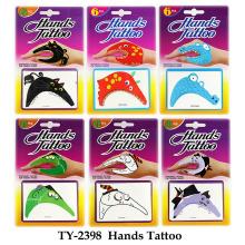 Seis estilos de tatuaje de mano