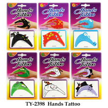 Six Styles Hand Tattoo