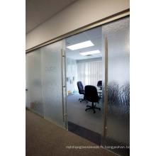Portes vitrées intérieures / Verre à vitre transparent / Porte vitrée