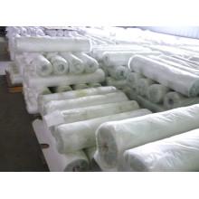 tecido de algodão cinza