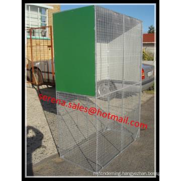 galvanized folding wire mesh metal bird aviary