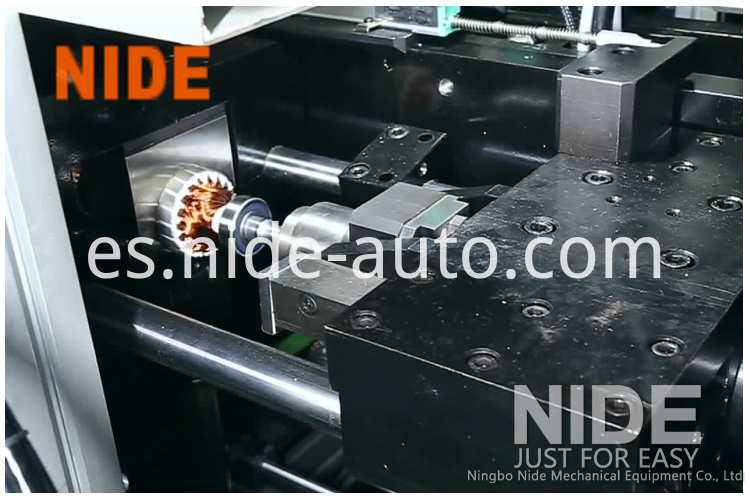 2-Automatic-Motor-Armature-Production-Line-coil-winding-machine welding machine102