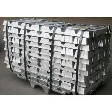 Fuente de fábrica Zinc Lingote de metal